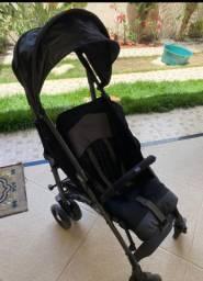 carrinho de bebê lite way 3 basic jet black chicco