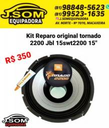 "Título do anúncio: Reparo original tornado 2200 15"""