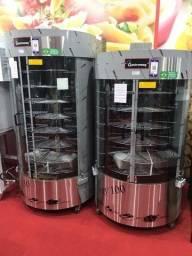 Ricardo assador giratórios capacidade 100 e 130 k de carne