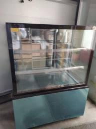 Título do anúncio: Vitrine refrigera 1 metro New Titanium *douglas
