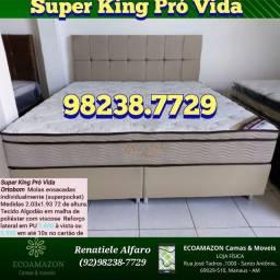 Título do anúncio: Cama super king Pró Vida / Entrega Imediata