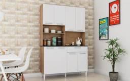 Título do anúncio: Armário de Cozinha / Com Pés em PVC 8 Portas 1 Gaveta / Sevilla-Branco ou Castanha-Branco