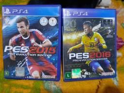 Jogos PlayStation 4 - PES2015/PES2016