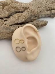 Piercing Cartilagem e Tragus - Aço Cirúrgico 316l