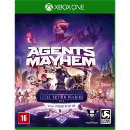 Título do anúncio: Agents Of Mayhem Xbox One Mídia Física Lacrada