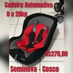 Título do anúncio: Cadeira Automotiva Crianca Masculino
