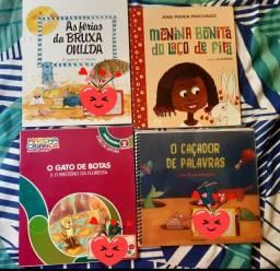 04 Livros Paradidáticos.