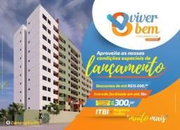 Título do anúncio: Viver Bem Condomínio Club - Camaragibe - 2 e 3 Q (sendo 1 Suite) - minha casa minha vida