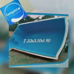 Picina fibra 7.33x3.10x1.40