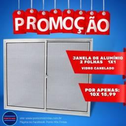 Título do anúncio: JANELA ALUMÍNIO NA PROMOÇÃO
