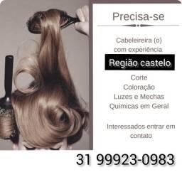 Título do anúncio: Precisa-se de cabeleireiro(a) e manicure COM EXPERIÊNCIA
