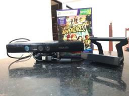 Título do anúncio: Kinect Xbox 360 + jogo e suporte tv