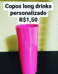 Título do anúncio: Copos long drinks personalizados R$1,50