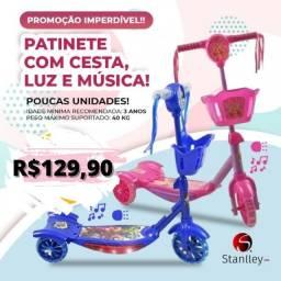 Título do anúncio: Patinete Infantil com luzes e musica!
