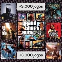 Título do anúncio: COMBO 3000 MIL JOGOS PARA PS3 - MÍDIA DIGITAL (LEIA A DESCRIÇÃO)