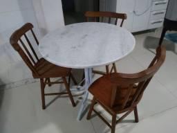 Cadeiras de mesa madeira