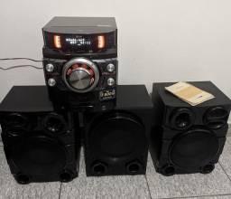 Título do anúncio: Vendo ou troco som LG 1800 watts rms