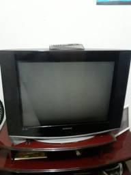 Televisor Samsung 29 polegadas com controle remoto ( antiga ).