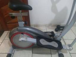 Elíptico e Bicicleta ergométrica Polishop