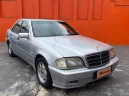 Título do anúncio: Mercedes-Benz C 180 CGI Classic 1.8 - 1999 -  Relíquia!