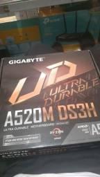 Placa mae gigbyte A520M DS3H