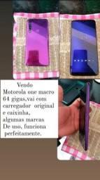 Título do anúncio: Motorola one makro