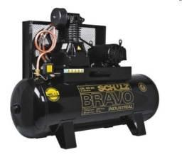 Título do anúncio: Compressor de Ar 40 Pés 250L Bravo Csl Schulz