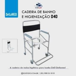 Cadeira para Higiene da dellamed NOVA ( 85  *