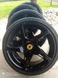 Vendo rodas com pneus aros 17