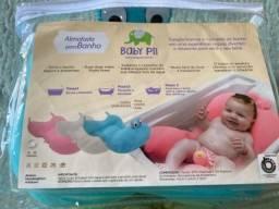 Título do anúncio: Almofada Azul para banho de bebê