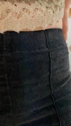 Título do anúncio: Calça preta flare Hand book