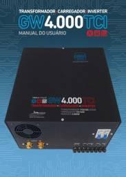 Carregador Bateria Transformador E Inversor Gw Tci4000