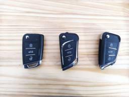 Chave canivete completa, GM,VW,Fiat, Honda, Hyundai e etc