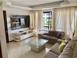 Apartamento com 4 dormitórios para alugar, 140 m² por R$ 3.950,00/mês - Candeal - Salvador