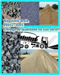 Aterro,brita,Cascalho e Areia