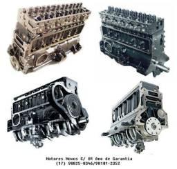 Motor Semi Parcial C/ Cabeçote OM366 LA L1620/LK-1620/