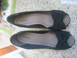 0429a0206f1 Sapato Arrive de salto preto 37