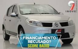 Sandero Score Baixo Pequena Entrada - 2010
