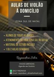 Aulas de violão à domicílio (Com repertório cristão)