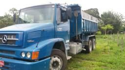 1620 eletrônico 2009 caçamba zera caminhão em otimo estado - 2009