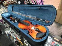 Violino 4/4 com estojo arco e breu, Jahnke