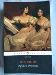 Livro Orgulho e Preconceito de Jane Austen