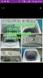 Concerta se máquina de lavar