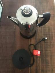 Cafeteira Italiana Elétrica Inox 110v Cadence