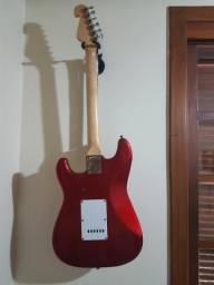 Vendo guitarra shelter usa cor cereja