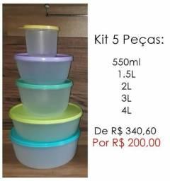 Promoção Potes Tupperware