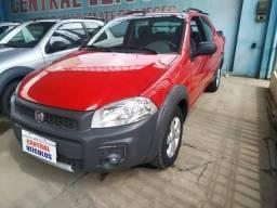 Fiat strada cd 3 portas 2014/2015 vemelha - 2015