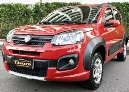 Fiat Novo Uno 2017 Way 1.3 3 Cilindros Completíssimo EXTRA - 2017