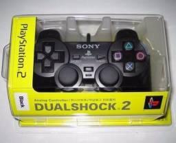 Controles PS2 Sony Vibratório