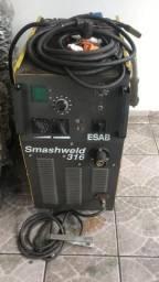 Máquina de solda Esab 316 Mig Mag